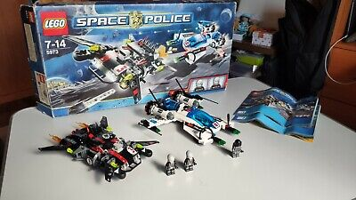 Lego set 5973 Space Police 3 Hyperspeed Pursuit