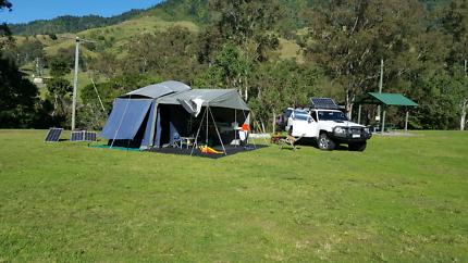 Lifestyle Camper trailer.
