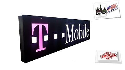 T.mobil Sign.led Light Box Sign 12x48x1.75 Inch