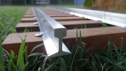 "Miniature Rail Line for 5"" gauge"