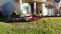 Reasonable rates, residential Landscaping