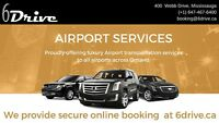Airport service taxi  416-407-7355