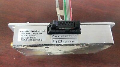 Aeroflexweinschel 4216-63 Programmable Attenuator 800-2300mhz