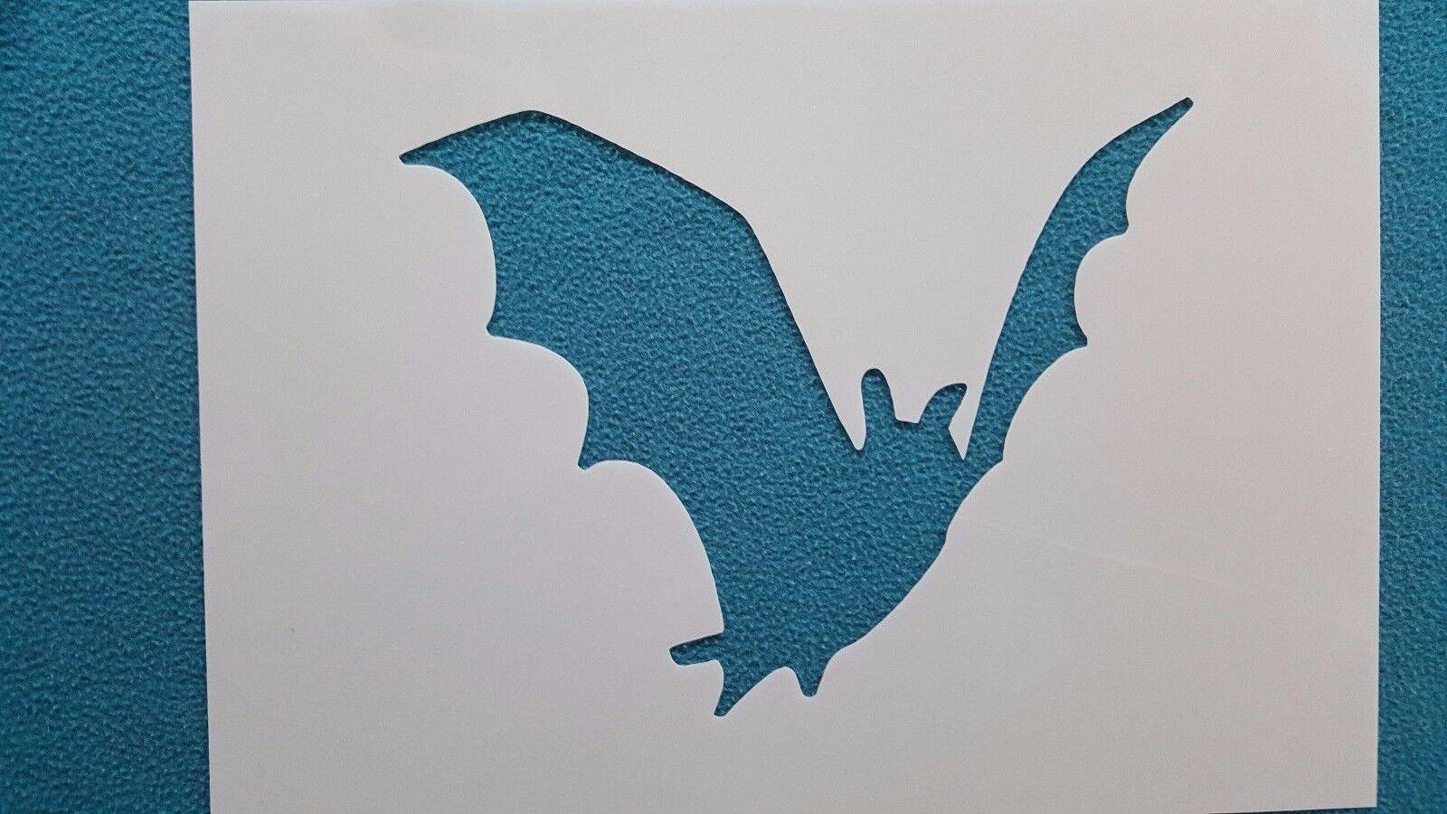 Schablone 913 Fledermaus Mylar Shabby Stencil Wandtattoos Wandbilder Airbrush
