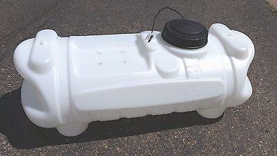 15 Gallon Spot Sprayer Tank ATV Horizontal Poly/Plastic Container Blow Molded