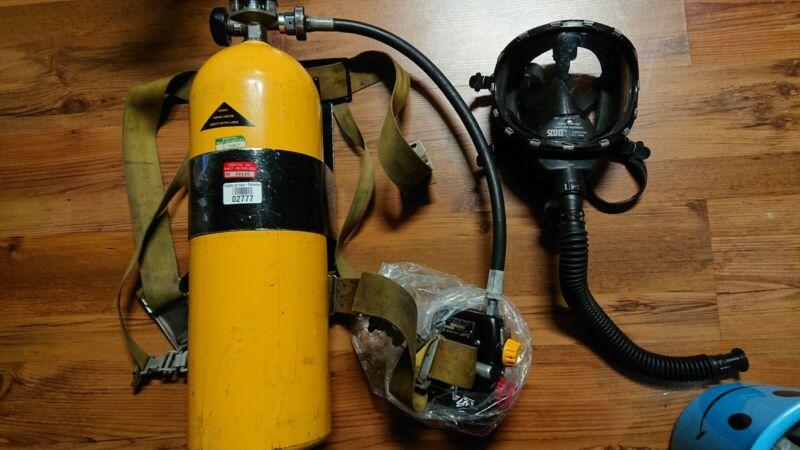 NICE Scott  air pack firefighters