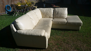 Leather 4 Seater Corner Sofa North Narrabeen Pittwater Area Preview