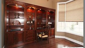 Luxury Bookcase and Desk -SOLD