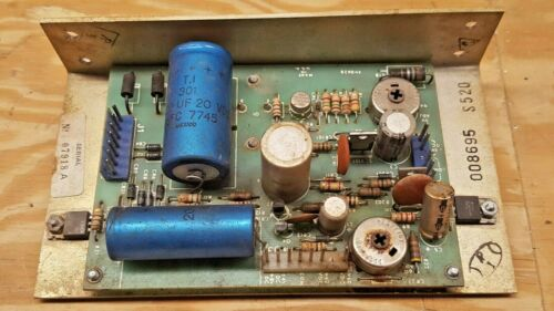 Gottlieb Pinball System 1 Power Supply