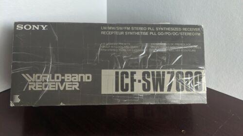Sony ICF SW-7600 World Band Receiver Radio. USED!