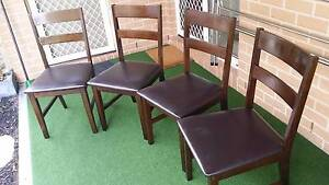 Dining Chairs x 4 Edgeworth Lake Macquarie Area Preview