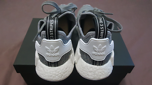 Adidas NMD R1 Glitch Solid Grey US9 Liverpool Liverpool Area Preview
