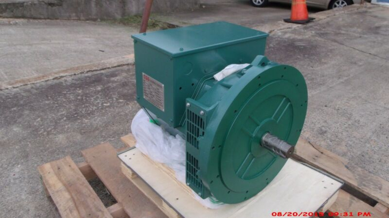 Generator Alternator Head Cgg224e 50kw 1phase 2bearing 120/240 Volts Industrial+