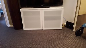 White TV cabinet Rhodes Canada Bay Area Preview