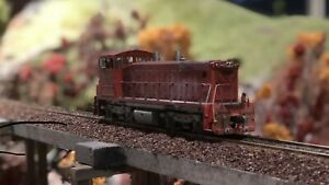 Model train Ho dcc diesel locomotive