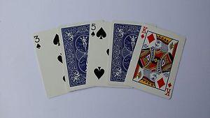 Magic Card tricks Acrobatic Cards FREEPOST UK,See  Demo selfworking magic
