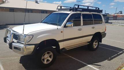 2000 Toyota LandCruiser FZJ105R Ferndale Canning Area Preview