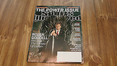 3 11 13 Sports Illustrated Magazine Roger Goodell On Cover