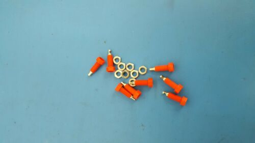 POMONA, 5935-2, RED 2mm BANANA JACK, Test Plugs & Test Jacks, 8 Pcs