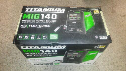 Welder Titanium MIG140 Professional Welder with 120 Volt Input_New In the Box