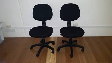 Office chairs x 2 make an offer