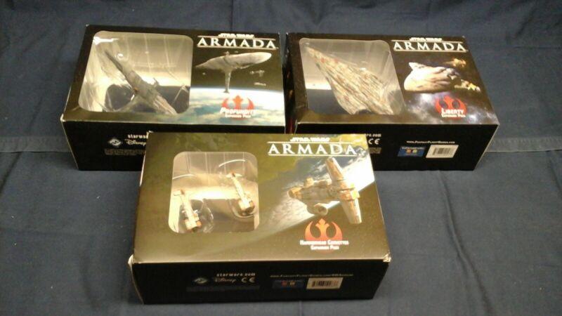 Star Wars Armada Profundity MC 80 & Hammerhead corvettes