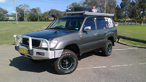 Toyota Land cruiser 100 series duel fuel Woy Woy Gosford Area Preview