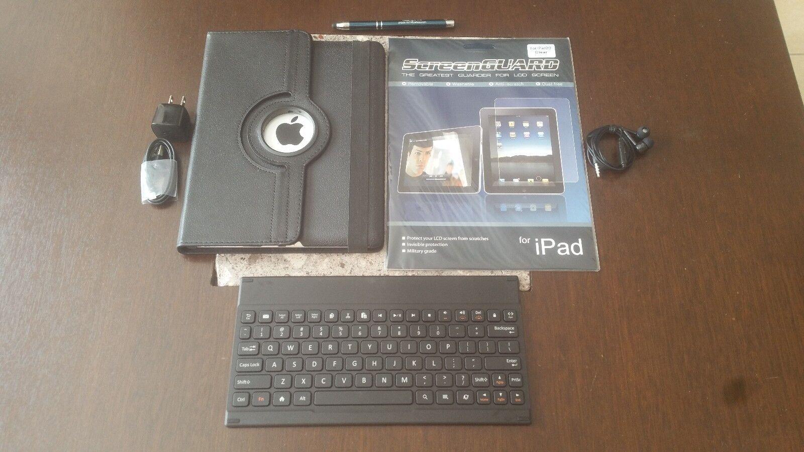 SALE! -Apple iPad 2 (2nd Gen) 64GB Wi-Fi + AT&T Unlocked- W/ ACCESSORIES!!!
