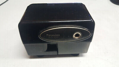 Panasonic Kp-310 Electronic Pencil Sharpener Black Home Office Tested