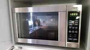 Stainless Steel Microwave - SMEG Hunters Hill Hunters Hill Area Preview