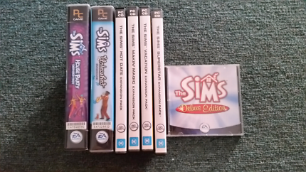 Sims Deluxe Edition + Expansion Packs For PC