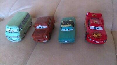 Disney Pixar Cars Diecast Lot Rare Rusty Dusty Rust-eze Fred Lightning McQueen