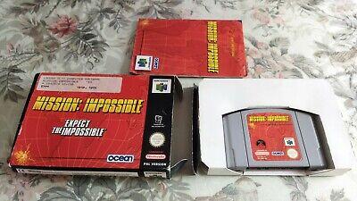 MISSION: IMPOSSIBLE n64 Pal Germany Nintendo Cib
