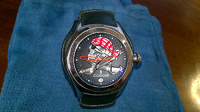 "Corum Bubble Collectior Series ""The Pirateer""  Swiss Made watch."