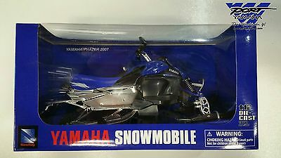 YAMAHA PHAZER FX TOY SNOWMOBILE DIE-CAST MODEL 1:12 SCALE