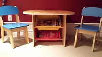 Child Activity Table and 2 Chairs