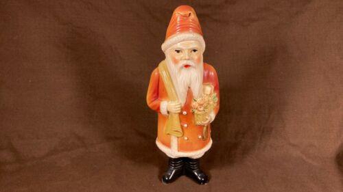 """Vintage Antique 1920s 1930s Celluloid Santa Claus Christmas Plastic USA 9"""""""