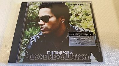 Lenny Kravitz It Is Time For A Love Revolution New Factory Sealed Cd