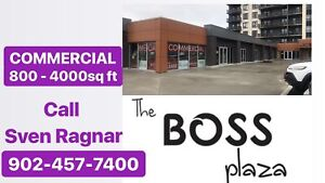 BOSS Plaza  Commercial spaces for YOU - available NOW!