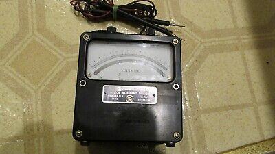 Weston Elelectrical Model 931 Dc Volt Meter