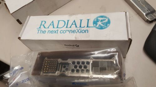 Radiall NSX G Arinc 600 Aerospace Rack and Panel Connector NSXG2S586YB09 NEW
