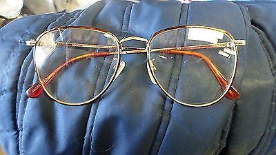 1886M Vtg POLO Classic V Mens Eyeglass Frames JAPAN 145 55-18 Tortoise VGC