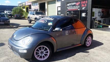 2005 Volkswagen Beetle 6 MONTHS REGO 3 YEAR WARRANTY $7990 YES PLEASE Slacks Creek Logan Area Preview
