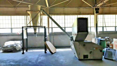 "Cumberland Granulator 1620 - 40HP - 10 HP 8"" Blower - 8"" Cyclone"