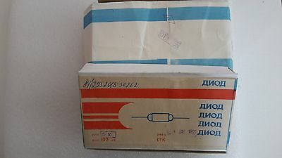 100x D18 18  Russian Ussr Military Vintage Point Contact Germanium Diode