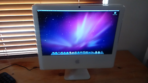 20 inch Apple iMac Snow Leopard 2Gb ram Bowden Charles Sturt Area Preview