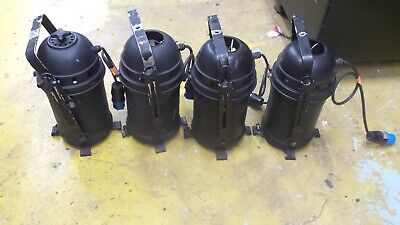 STAGE LIGHTING - Lot of 4 Thomas PAR64 Colour Changer Cans c/w Lamps & 16A Plug
