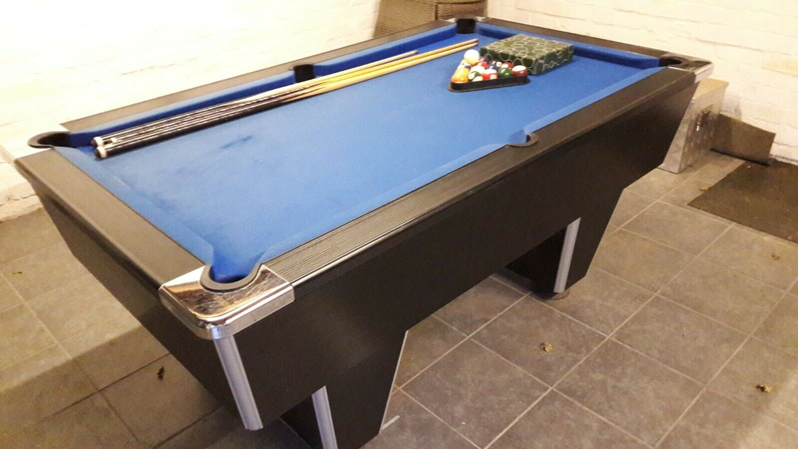 6ft POOL TABLE SLATE BED