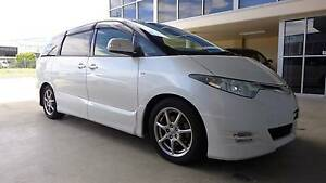 MY 2008 Toyota Estima white colour with brand new leather seats Wetherill Park Fairfield Area Preview