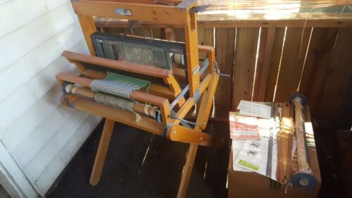 Vintage Dick Blick Artcraft Table Loom 600 Stand Extras 1-Owner Manual Gorgeous